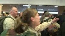Retour des militaires belges de l'aéroport de Kaboul