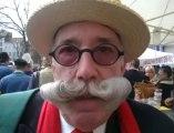 La plus belle moustache de l'année livre ses astuces beauté