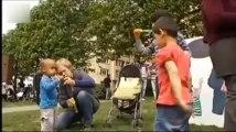 Enfants et associations mènent des actions à Bruxelles