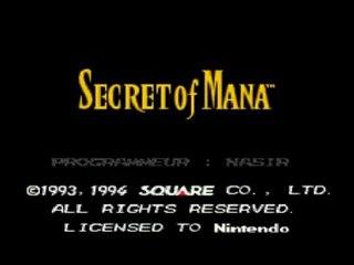 Secret of mana - Renvoyé du village 01