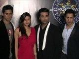 Student Of The Year Promotions At Kaun Banega Crorepati Sets - Telly News [HD]