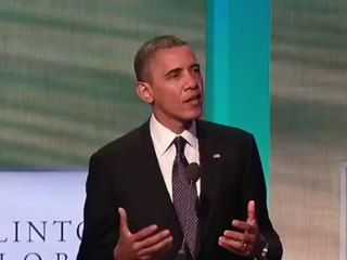 President Obama Speaks at the Clinton Global Initiative Annual Meeting