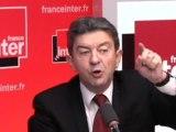 Pour Mélenchon, Hollande est dans l'erreur et Ayrault un problème