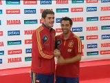 Iker y Xavi obtienen el Premio Principe de Asturias de los Deportes 2012