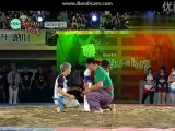 121001 Idol Wrestling Show MBC Chuseok Special  ( Ricky fight cut)