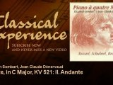 Wolfgang Amadeus Mozart : Sonate, in C Major, KV 521: II. Andante - ClassicalExperience