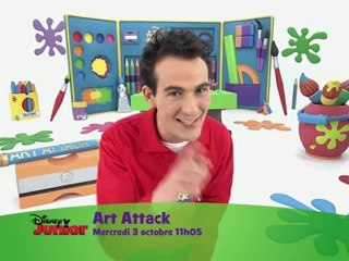Disney Junior - Art Attack - mercredi 3 octobre à 11h05