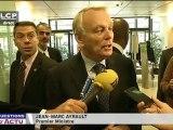 Jean-Marc Ayrault à huis clos devant le groupe socialiste