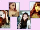 Real-life Barbie dolls Anastasiya Shpagina, Jiayun Wang, Koko Wang, and Tina Leopard