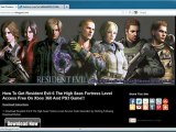 Resident Evil 6 The High Seas Fortress Level Access DLC - Xbox 360 - PS3