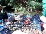 Langonnais dépôt sauvage d'ordures