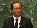 Intervention devant l'Assemblée Générale des Nations Unies