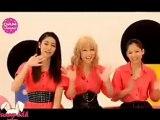 [TV] E-girls (Ishii Anna, Ami, kaede) at dam channel (1)