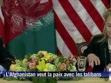 L'Afghanistan veut la paix avec les talibans