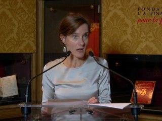 Discours de Judith Chavanne
