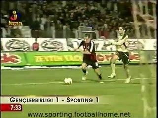 Gençlerbirligi - 1 Sporting - 1 de 2003/2004