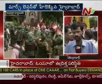 Osmania University students bent on marching from campus