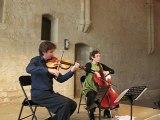 Ravel, Sonate pour violon et violoncelle (Allegro), N. Boutin & F. Aurier