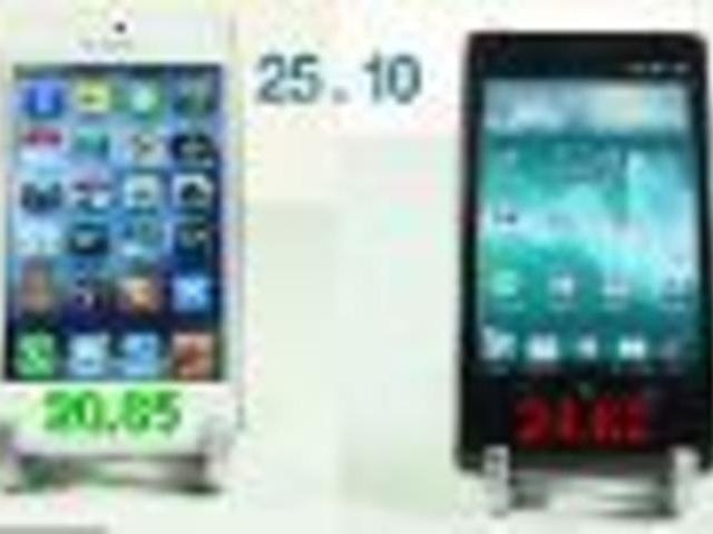 iPhone 5 vs Sony Xperia T Speed Test