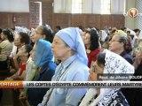 Les coptes d'Egypte commémorent leurs martyres