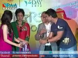 Hot & Sexy Netu Chandra and Tanushree Dutta celebrates Rose Day with CPAA Cancer Patients