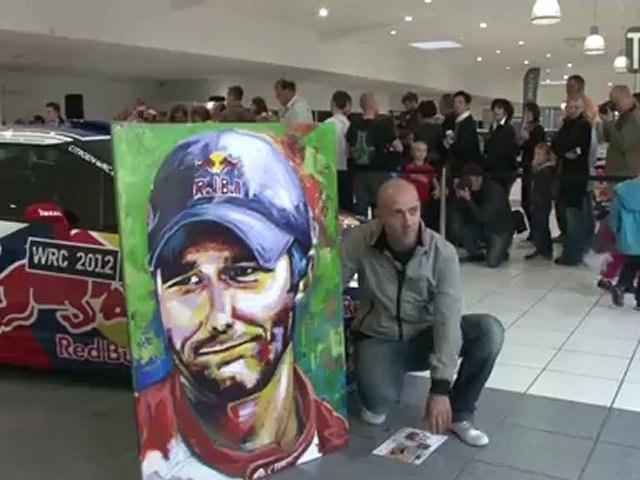 Séance de dédicaces de Sébastien Loeb