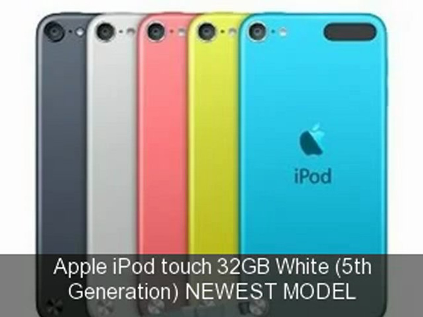 Apple Ipod Touch 32gb White 5th Generation Newest Model ...