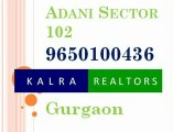 09650100436 Adani, Group, Sector, 102, Gurgaon, Adani Sec 102