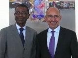 Harlem Désir rencontre Youssou N'Dour
