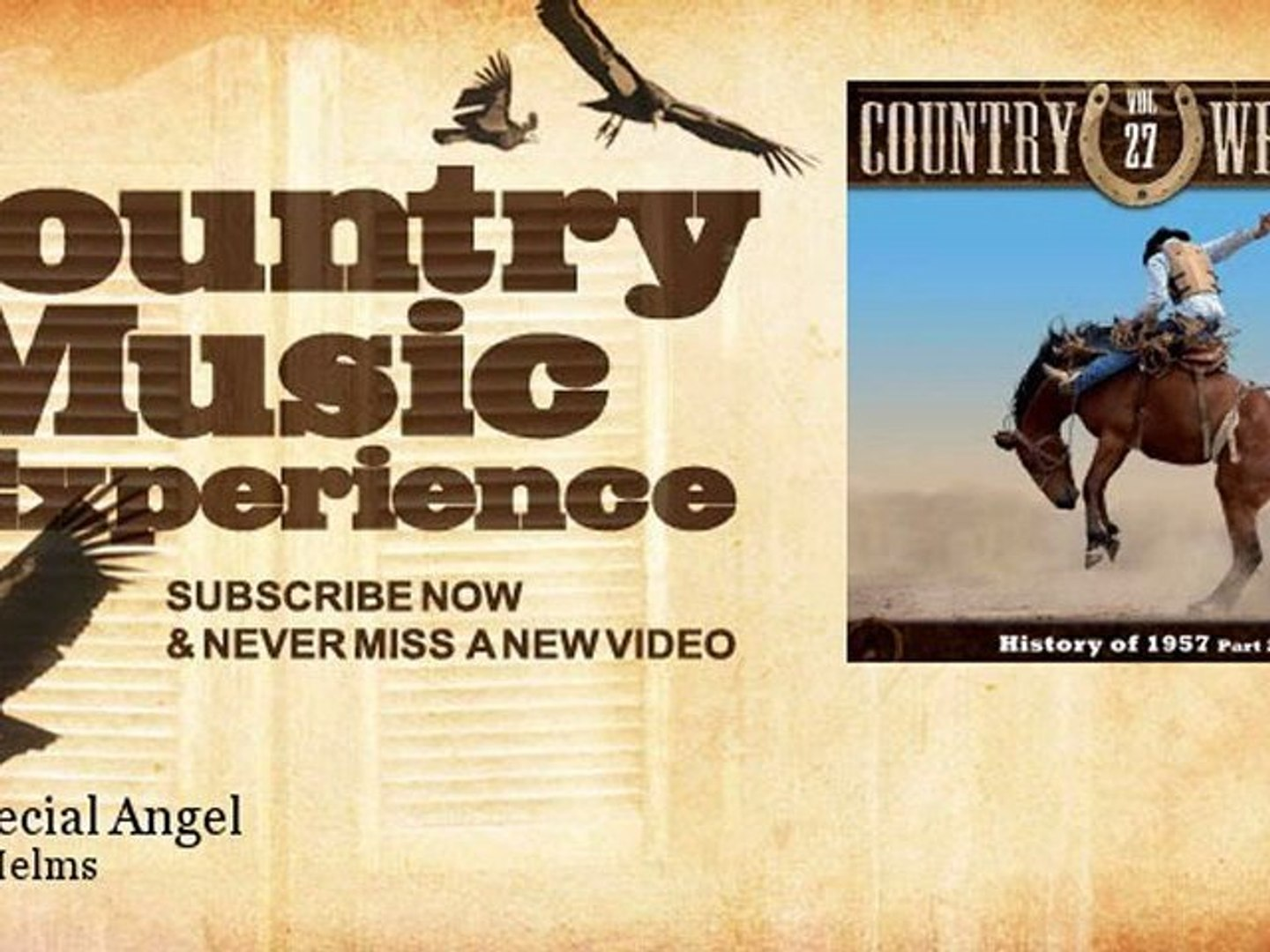 Bobby Helms - My Special Angel - Country Music Experience