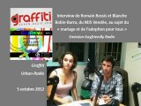 Interview de Romain et Blanche, du MJS Vendée, sur Graffiti Urban-Radio, dans l'émission Gayfriendly - 5/10/12