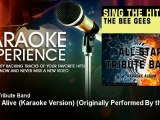 All Star Tribute Band - Stayin' Alive (Karaoke Version) - Originally Performed By the Bee Gees