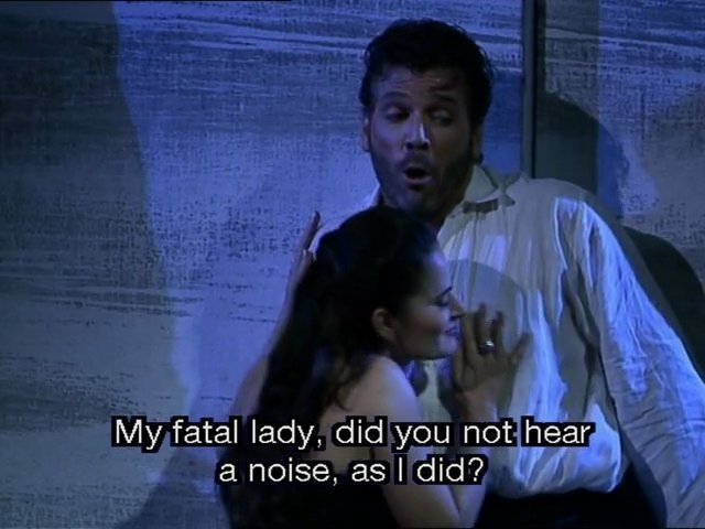 Macbeth / G.Verdi / Act 1 / Duet '' Sappia la sposa ''