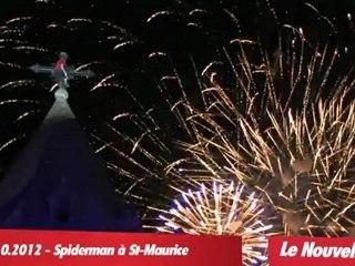 Alain ROBERT - French Spiderman à Saint-Maurice