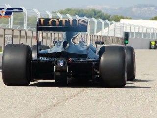 XP Développement Lotus F1 Circuit du Castellet 2012 (HD)