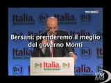 Pd, Bersani: prenderemo il meglio del governo Monti - VideoDoc. Il segretario all'assemblea democratica: Lo abbiamo voluto noi