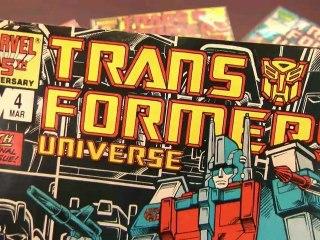 CGR Comics - TRANSFORMERS UNIVERSE #4 comic book review