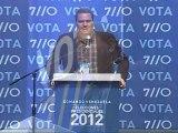 BRIQUET 06-10-12 Caracas, Sábado 5 de octubre de 2012, El jefe de campaña del Comando Venezuela, Armando Briquet,  rechazó las denuncias del Comando Carabobo que acusó al frente opositor de emitir presuntas llamadas telefónicas proselitistas desde el extr