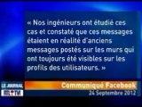"Bug Facebook ?  Un bug inquiétant est apparu hier sur Facebook.      ""Bug"" Facebook, info ou intox ?"