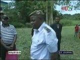 Réception du commissariat de police de Ngbala dans la Sangha par le ministre de l'intérieur
