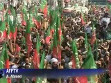 Khan claims success in Pakistan drone protest