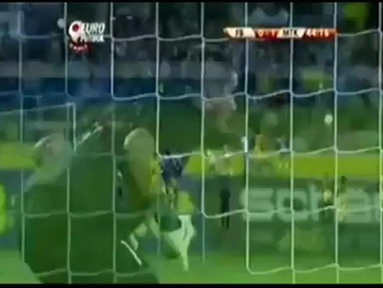 Alex De Souza müthiş frikik golü - Fenerbahçe MTK