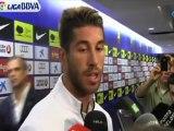 Deportes / Fútbol; Real Madrid, Ramos: 'Nuestro trabajo fue superior al del Barcelona'