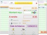 Caisse - Optimizze: Clôture d'un ticket de caisse - ERP - v16