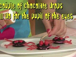 Quick & easy children recipe: Chocolate spiders