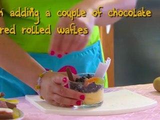 Quick & easy children recipe: spooky funny dessert