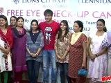 Vivek & Amrita Rao @ WIFPA Free Eye Medical Checkup Camp