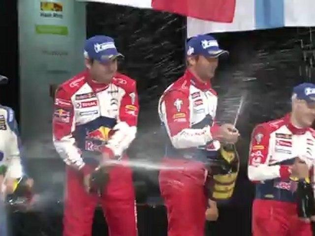 Nos meilleures images du rallye + le podium au zenith