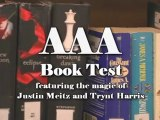 Anytime Anyplace Anybook (AAA) Book Test by Justin S. Meitz - Magic Trick