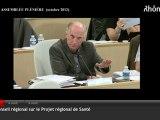 Gilles Ravache - AVIS DU CONSEIL RÉGIONAL RHÔNE-ALPES SUR LE PROJET REGIONAL DE SANTÉ (PRS) - octobre2012